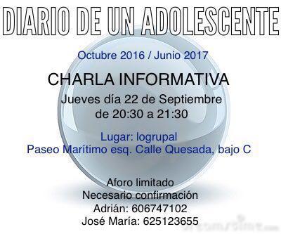 diario-de-un-adolescente-2a-edicion-charla-presentacion-a-padres-y-madres-septiembre-2016