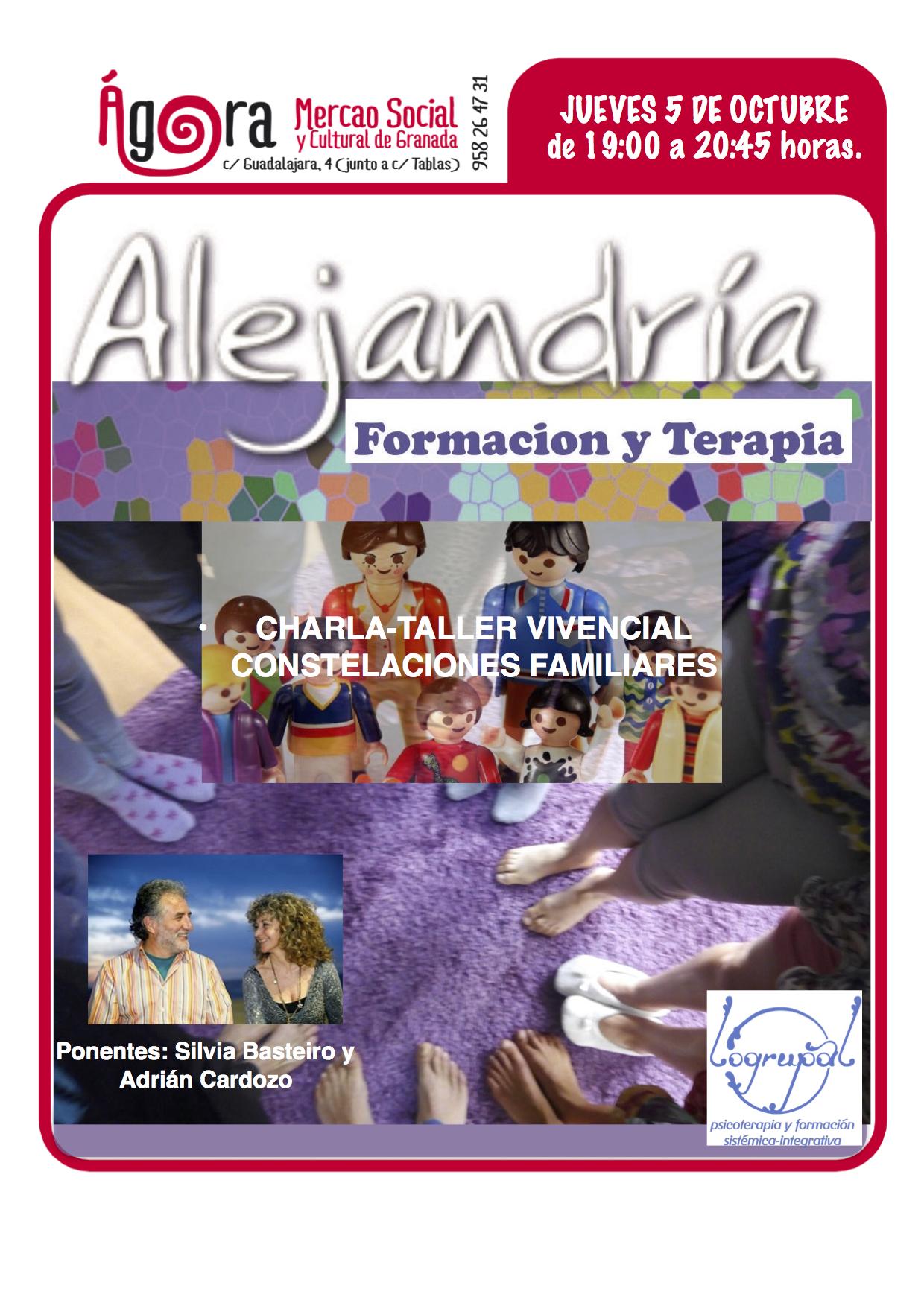 Charla-taller vivencial de Constelaciones Familiares (5 de octubre, Granada)