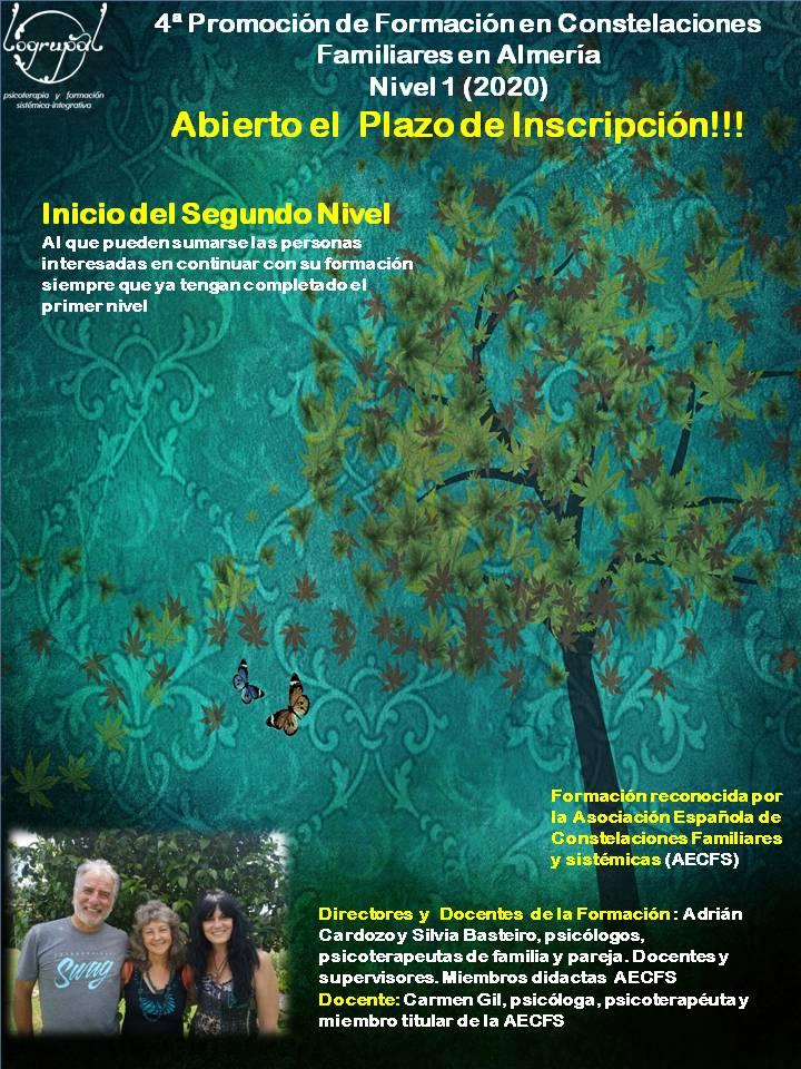 formación en constelaciones familiares 4ª promoción en Almería
