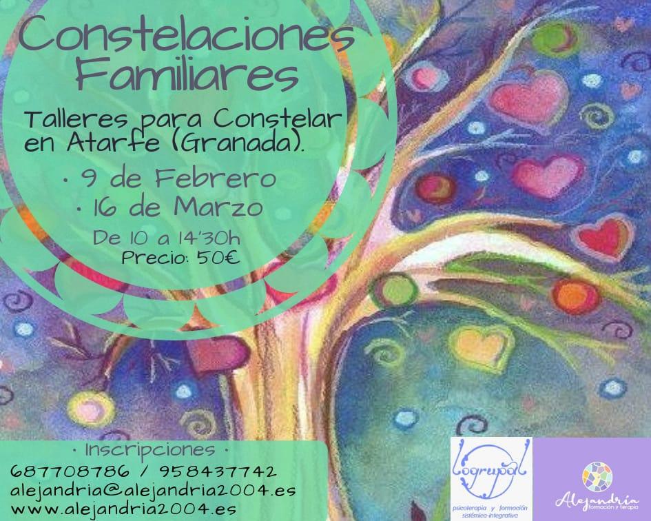 Taller de Constelaciones Familiares Atarfe (Granada) 16 de marzo