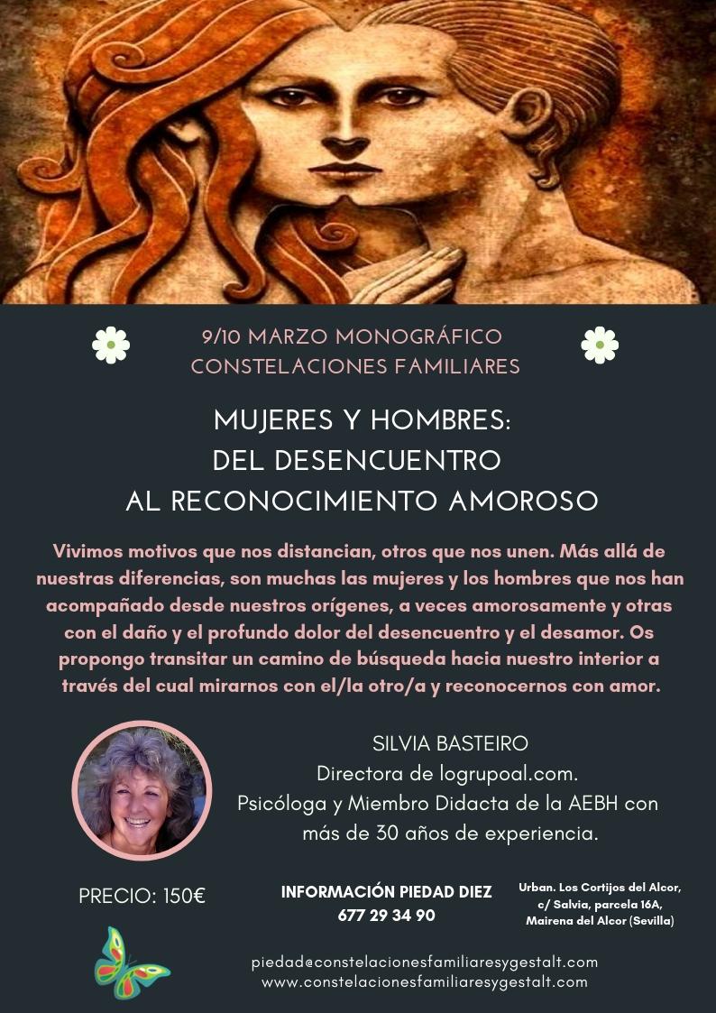 Módulo 6 del Nivel 2 de la Formación en Constelaciones Familiares (Sevilla, 9 y10 de marzo)