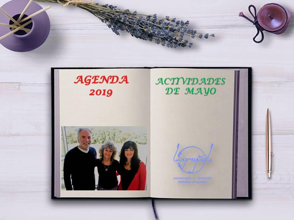 Agenda de actividades de MAYO 2019