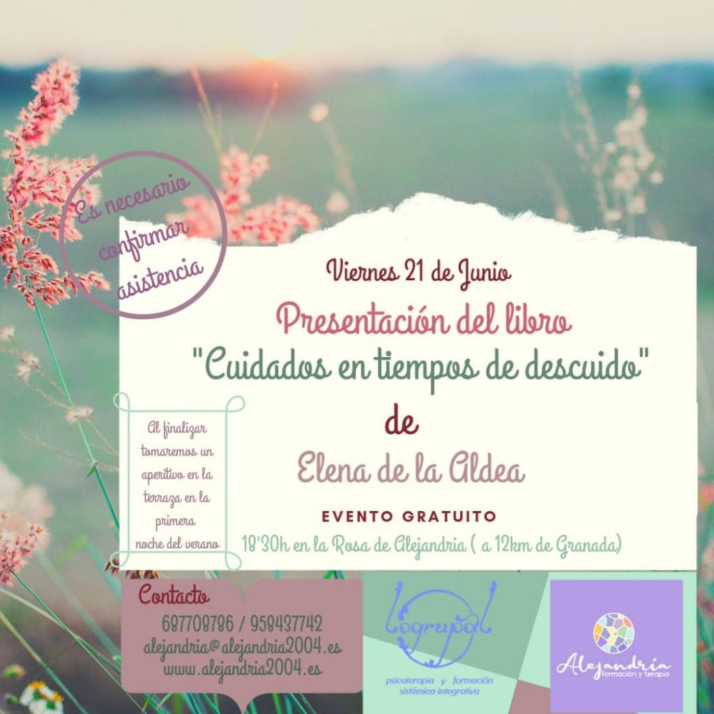 presentación del libro de Elena